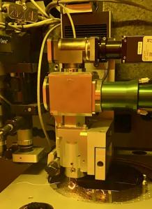 Laser dicing of silicon wafers at SFU